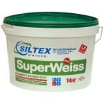 Матовая дисперсионная краска - SuperWeiss 14кг