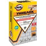 Клей для пенаблока Юнис «Униблок» 25кг