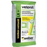 Шпатлевка финишная weber.vetonit LR + 25 кг